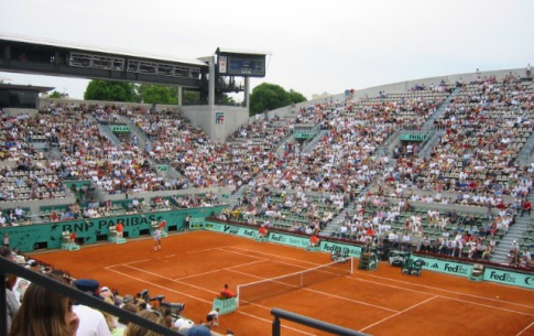 Thrill to the French Open in Paris!